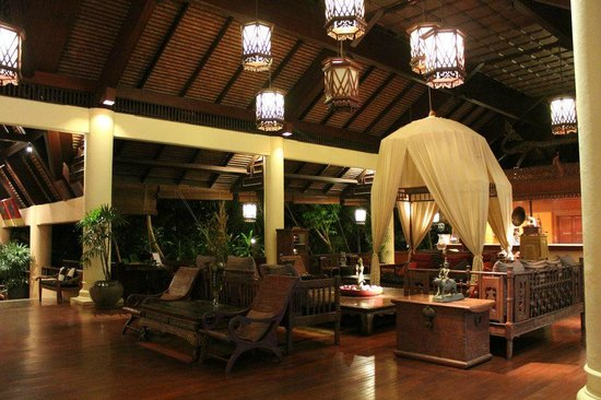 Anantara Hua Hin Resort:                   Lobby