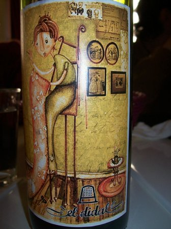 El Didal:                                     They have their own wine label.