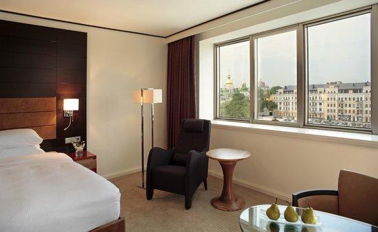 Отель Хаятт Ридженси Киев: Deluxe King room