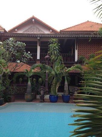 HanumanAlaya Boutique Residence:                   здание отеля