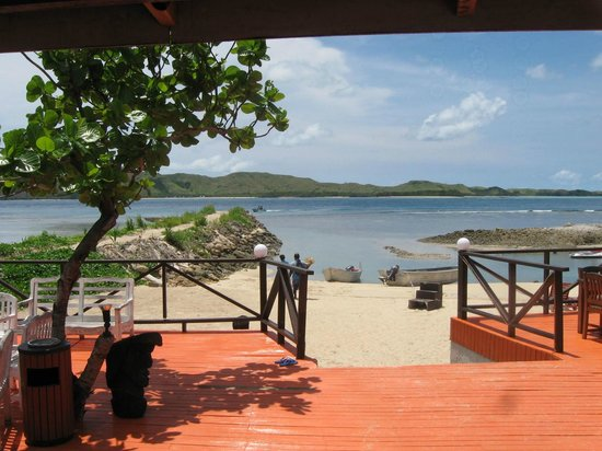 Coralview Island Resort:                   View from the dive shop