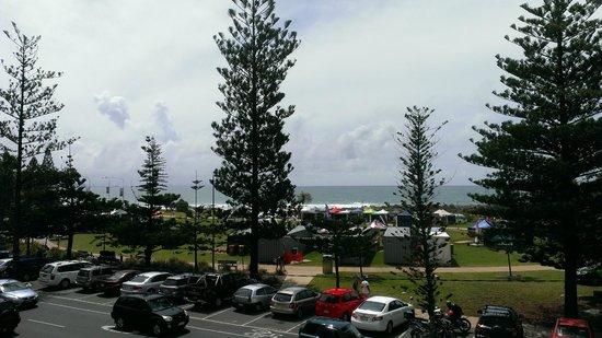 Beach House Seaside Resort:                   From the room