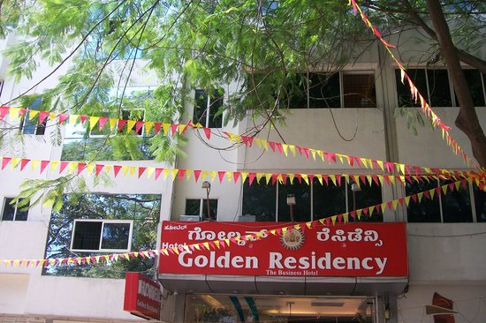 Golden Residency:                   front view