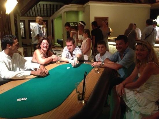 LUX* Grand Gaube:                                                       poker lux