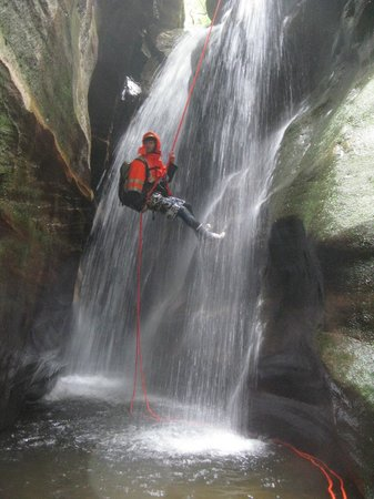 River Deep Mountain High - Private Day Trips: Sheet waterfall