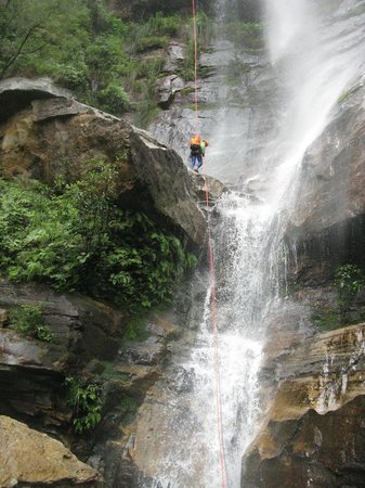 River Deep Mountain High - Private Day Trips: 55m Abseil in Yileen
