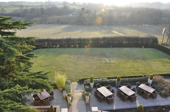 Nuthurst Grange Country House Hotel & Restaurant:                   View From Room 16