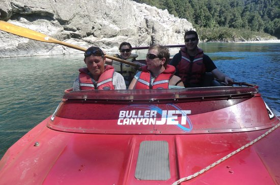 Buller Canyon Jet:                   Mark left us to it...:P