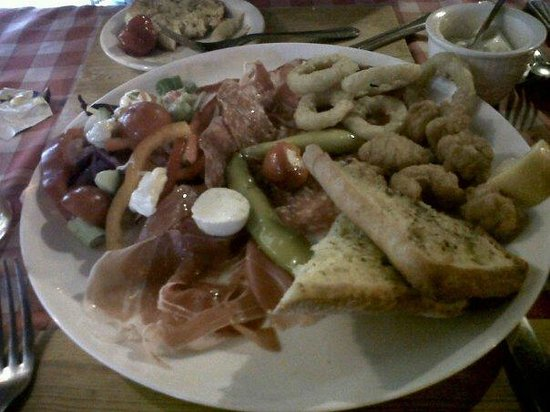 Little Italy:                   Lovely big starter