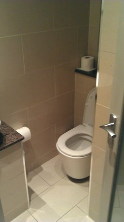 Sidney Hotel London-Victoria:                   Badkamer Toilet                 