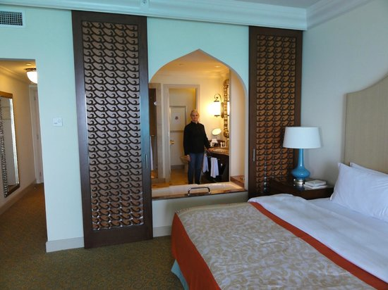 Atlantis, The Palm:                   Inside bedroom