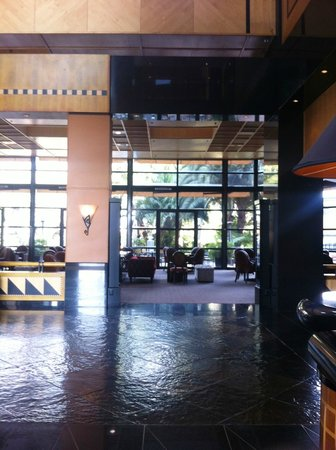 Hyatt Regency Johannesburg:                   reception & lounge area