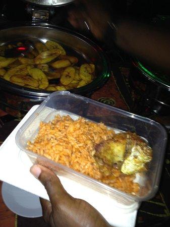 Bogobiri House Lagos:                   Plaintain