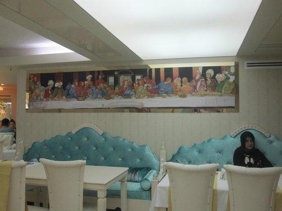 โรงแรมอิเพ็คปาลาส: Χώρος Πρωινού