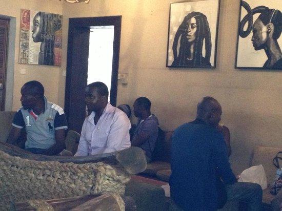 Bogobiri House Lagos:                   Business Meeting Area