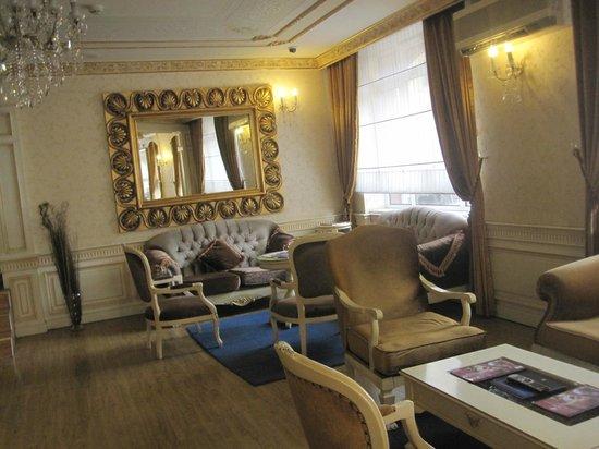 هوتل آيبك بالاس: Hotel Lobby