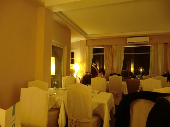 Le Pantarei: Restaurant Innenansicht