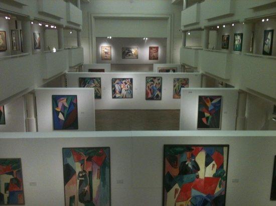 Musee des Beaux-Arts d'Ixelles :                   Alberto Magnelli