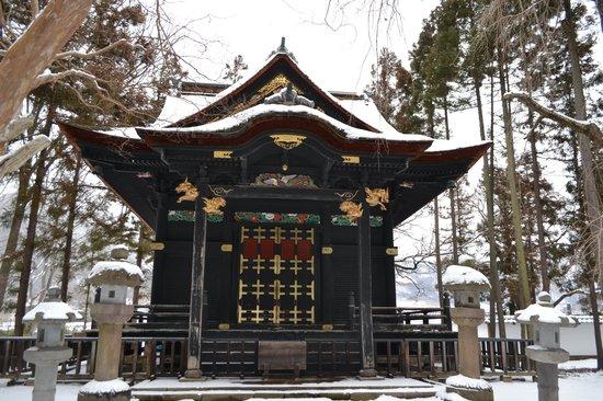 Nagano, Japan:                   真田信之霊屋
