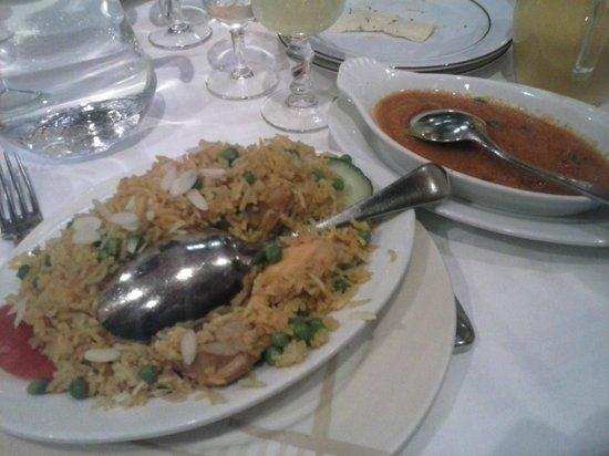 Restaurant Planete Indienne: Pollo Biryani