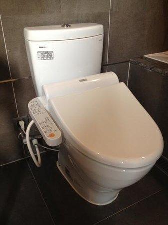 Green World Mai - Nanjing:                   Japanese toilet