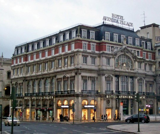 Hotel Avenida Palace:                   Hotelgebäude