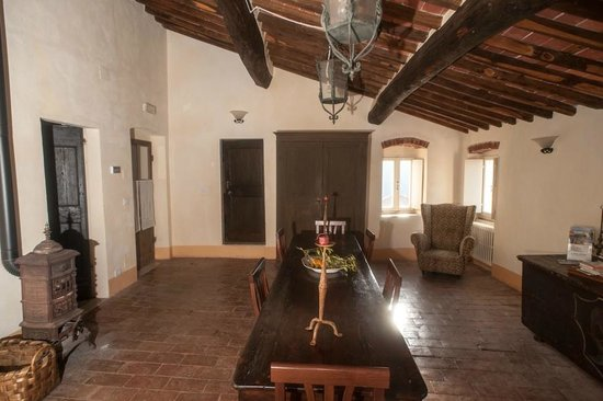 Sarzana, Włochy:                   La sala della colazione
