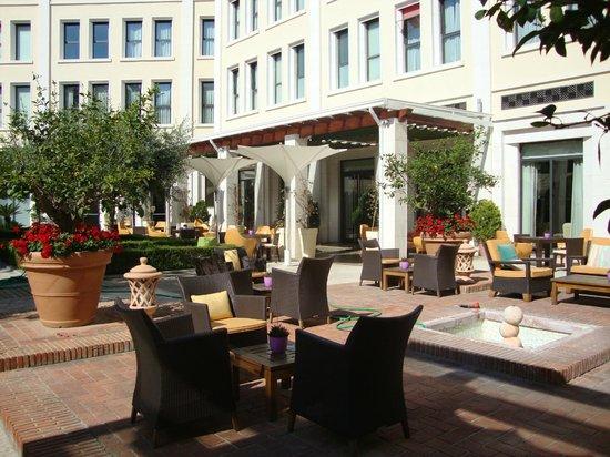 The Westin Valencia:                   The terrace                 