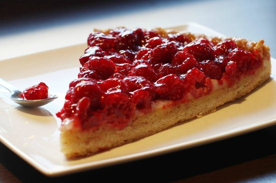 La Sana : Our raspberries pie