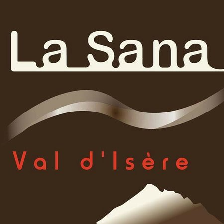 La Sana restaurant, on the front slope of Val d'Isère, opposite to the french ski school ESF