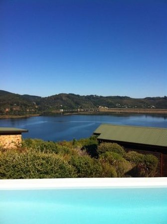 Elephant Hide of Knysna Guest Lodge:                   awesome view of the Knysna Lagoon
