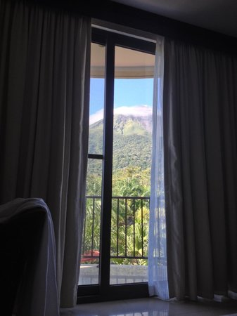 The Royal Corin Thermal Water Spa & Resort:                   Morning view from bed