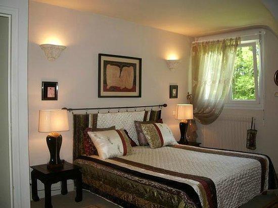 La Villa les Hortensias : chambre chinoise