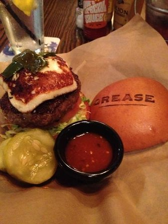 Grease Burger Bar :                   burger from hell