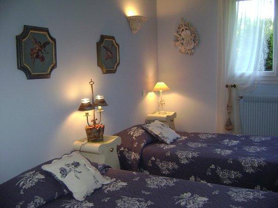 La Villa les Hortensias : chamre romantique