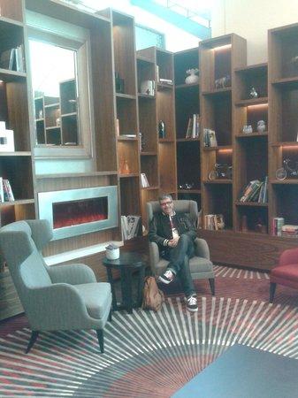 Movenpick Hotel Amsterdam City Center:                   Lobby