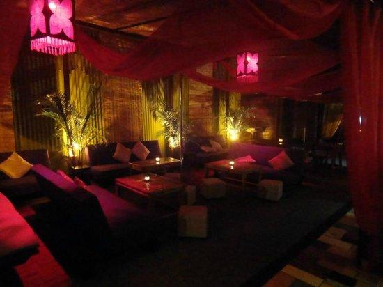 la Kasbah: terrace