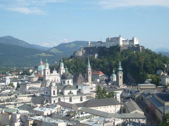 JUFA Hotel Salzburg City:                   Old Town & Fortress Hohensalzburg