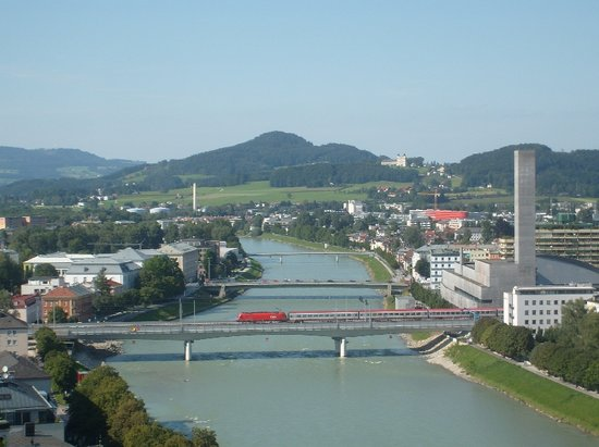 JUFA Hotel Salzburg City:                   west part of the city