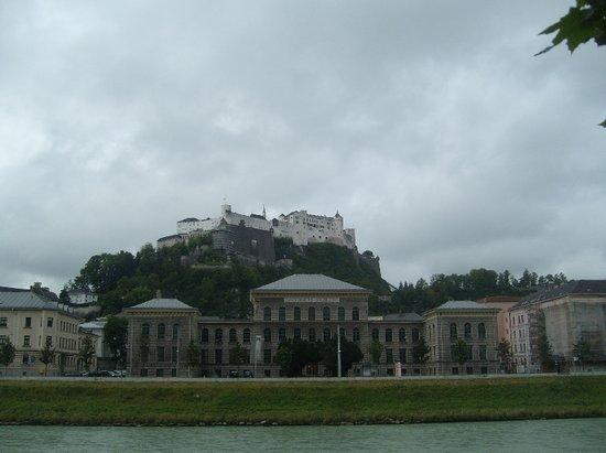 JUFA Hotel Salzburg City:                   Fortress Hohensalzburg