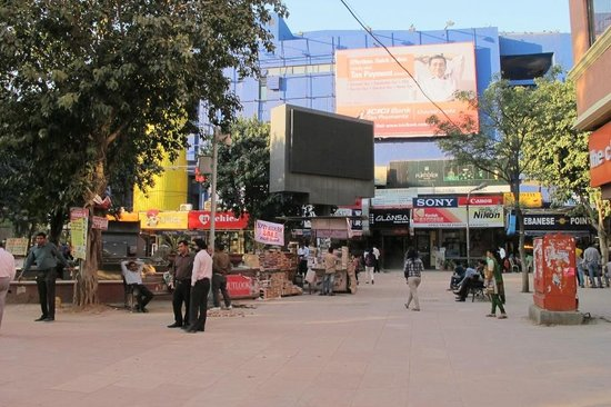 Tree Of Life :                   PVR cinema and shop area