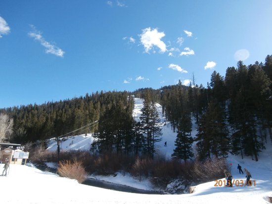 Red River Canyon:                   Great skiing according to the experts