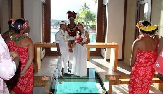 InterContinental Bora Bora Resort & Thalasso Spa:                   nosso casamento