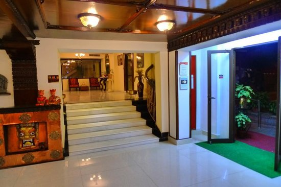 Kathmandu Guest House:                   Reception