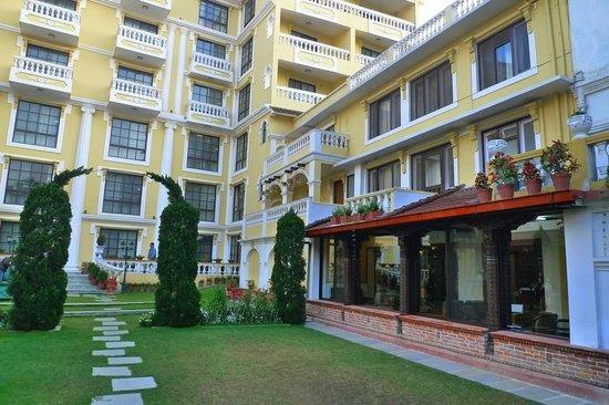 Kathmandu Guest House:                   Garden/Courtyard