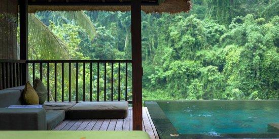 The Famous Infinity Pools Picture Of Hanging Gardens Of Bali Payangan Tripadvisor