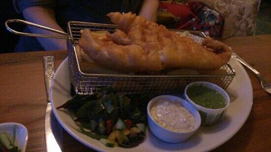 Horse & Farrier Inn:                   whale of a fish