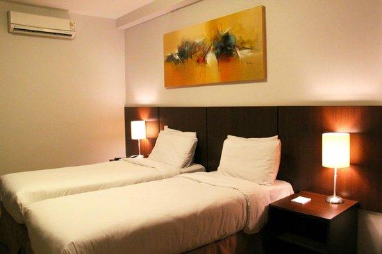 H3 Hotel Paulista: Apartamento twin