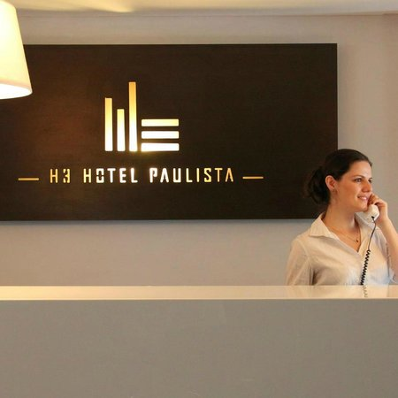 H3 Hotel Paulista: Recepção