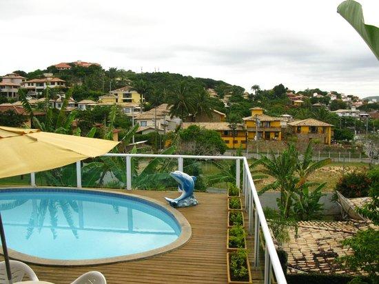 Buzios Guest House:                   Vista desde suite